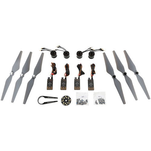 DJI E305 Tuned Propulsion System for Multi-Rotor UAVs (4 Motors/ESCs / 3 Prop Pairs)