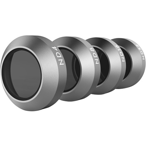 DJI ND-4/8/16/32 Filter Set for Mavic Quadcopter (4 Pieces)