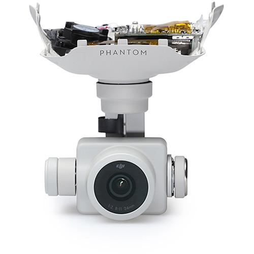 DJI Gimbal Camera for Select Phantom 4 Pro and Advanced Drones (White, 1st Gen)