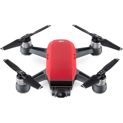 DJI Spark Quadcopter (Lava Red)