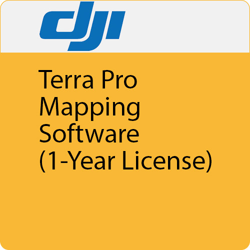 DJI Terra Pro Mapping Software (1-Year License, 3 Devices)