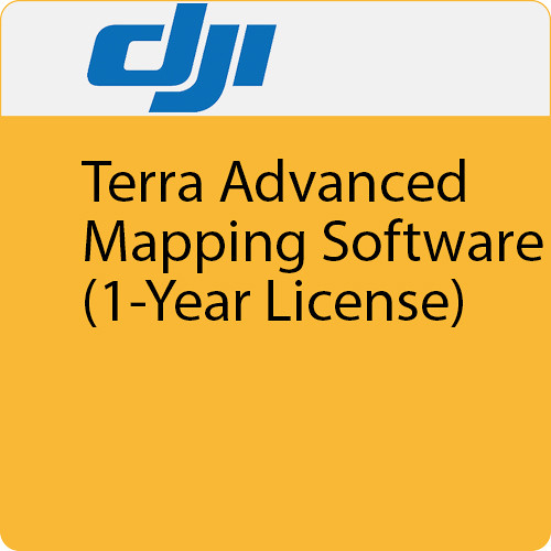 DJI Terra Advanced Mapping Software (1-Year License, 3 Devices)