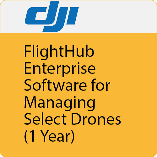 DJI FlightHub Enterprise Private Edition Software (1-Year, 30 Drones)
