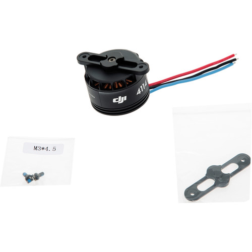 DJI 4114 Motor with Black Prop Cover for S900 (Part 21)