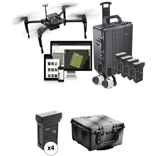 DJI Smarter Farming Package with Matrice 100 and Extra Battery Kit
