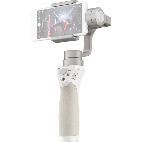 DJI Osmo Mobile Gimbal Stabilizer for Smartphones (Silver)