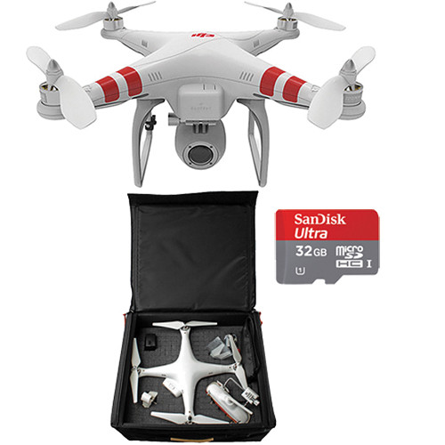 DJI Phantom 2 Vision Quadcopter with Backpack