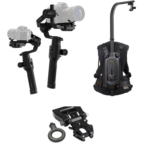 DJI Ronin-S Kit with Easyrig Minimax, Kong Quick Release, and Umbrella