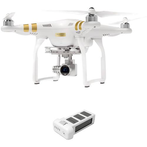 DJI Phantom 3 Professional with 4K Camera and Battery Bundle