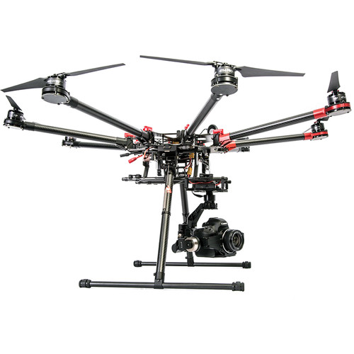 DJI Spreading Wings S1000 Premium Octocopter w/ Gimbal for Canon 5DII