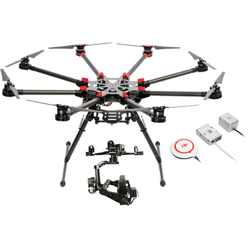 DJI Spreading Wings S1000 Professional Octocopter with Gimbal for GH3