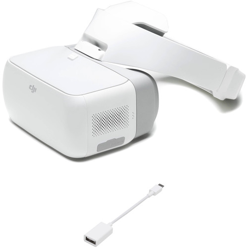 DJI Goggles FPV Headset Kit with Micro-USB OTG Cable