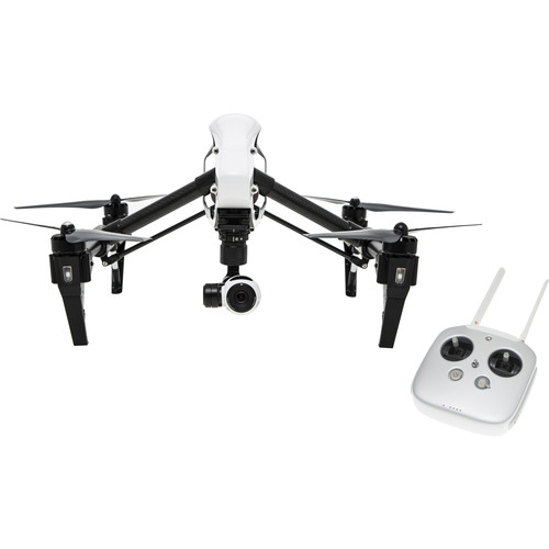 DJI Inspire 1 Quadcopter with 4K Camera and 3-Axis Gimbal (2 Transmitters)