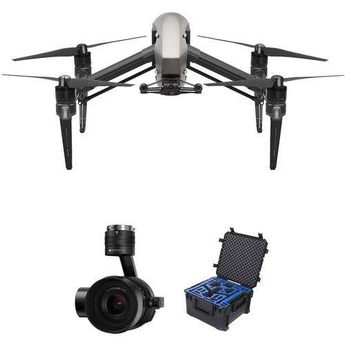 DJI Inspire 2 Quadcopter Combo Bundle with Zenmuse X5S and Hard Case