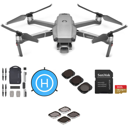 DJI Mavic 2 Pro with Fly More Combo Kit