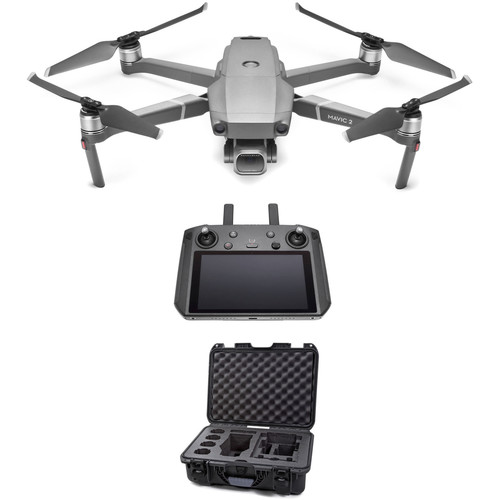 DJI Mavic 2 Pro with Smart Controller and Nanuk 925 Waterproof Hard Case Kit