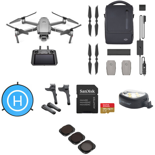 DJI Mavic 2 Pro with Smart Controller, Fly More & Accessories Kit