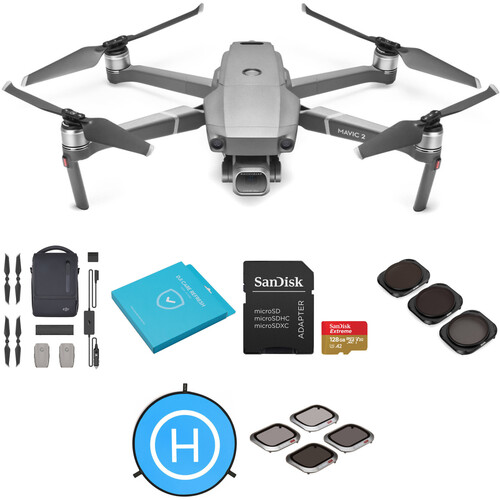 DJI Mavic 2 Pro with Fly More Combo and Care Refresh Kit