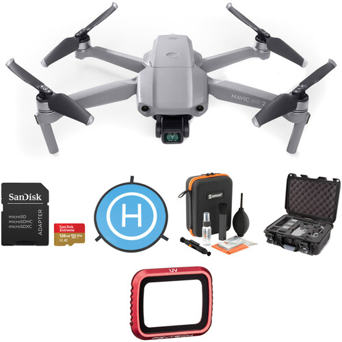 DJI Mavic Air 2 with Anti-Collision Light & Cleaning Kit