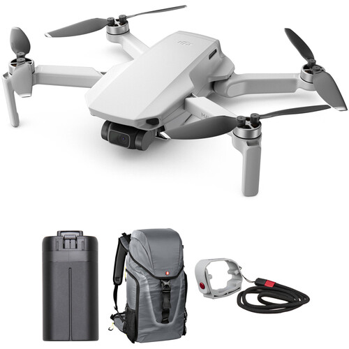 DJI Mavic Mini with Extra Battery & Manfrotto Aviator Hover-25 Backpack Kit