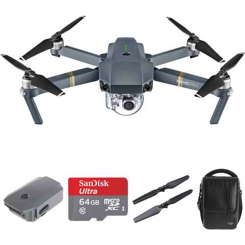 DJI Mavic Pro Kit with Additional Accessories