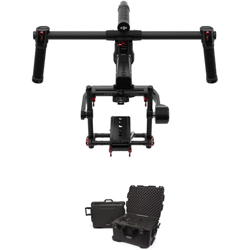 DJI Ronin-MX 3-Axis Gimbal Stabilizer Kit with 960 Waterproof Case