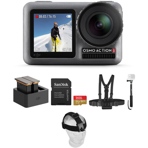 DJI Osmo Action Camera Deluxe Kit