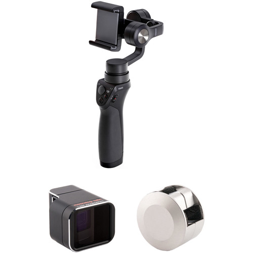 DJI Osmo Mobile with Adapter Lens Kit for iPhone 7
