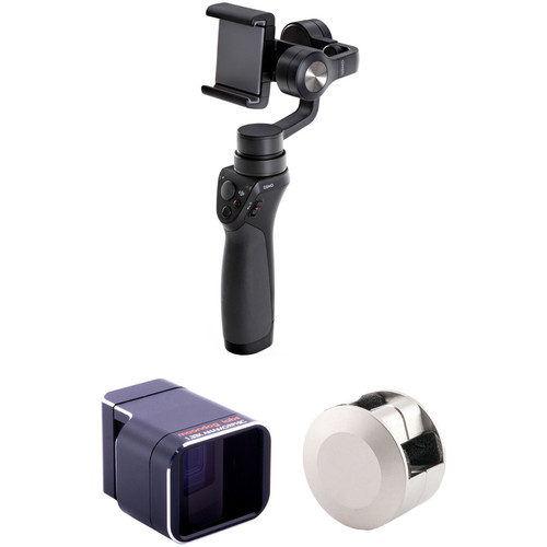 DJI Osmo Mobile with Adapter Lens Kit for iPhone 5/5s/SE