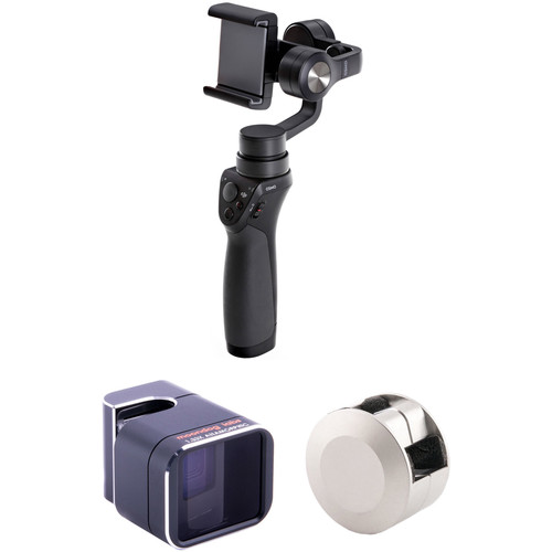 DJI Osmo Mobile with Adapter Lens Kit for iPhone 6 Plus/6s Plus