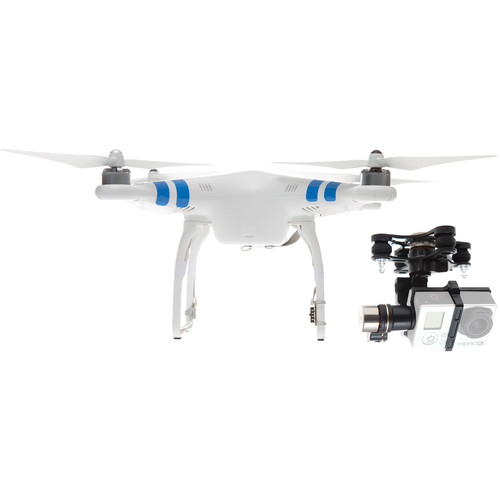 DJI Phantom 2 v1 Quadcopter with Zenmuse H3-3D 3-Axis Gimbal