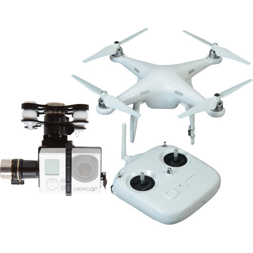 DJI Phantom 2 v2 Quadcopter with Zenmuse H3-3D 3-Axis Gimbal