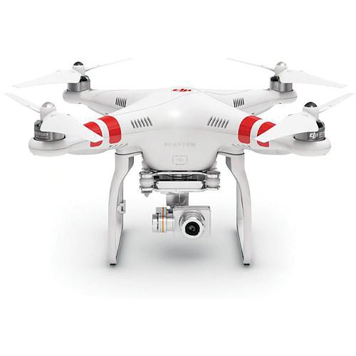 DJI Phantom 2 Vision+ v2.0 Quadcopter with Gimbal-Stabilized 14MP, 1080p Camera