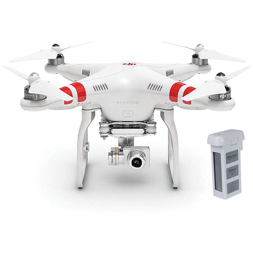 DJI Phantom 2 Vision+ v2.0 Quadcopter with Extra Battery Bundle