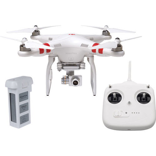 DJI Phantom 2 Vision+ v3.0 Quadcopter with Spare Flight Battery Bundle (Late 2014)