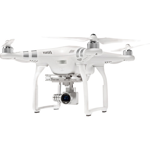 DJI Phantom 3 Advanced with 2.7K Camera and Battery Bundle with Hardshell Backpack