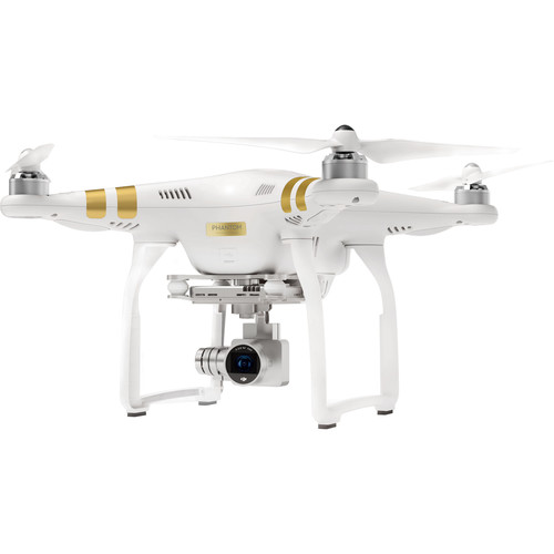 DJI Phantom 3 Professional with 4K Camera Bundle with Hard Case and SD Card