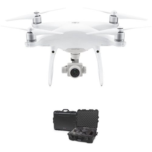 DJI Phantom 4 Advanced+ Quadcopter Bundle with 945 Waterproof Hard Case