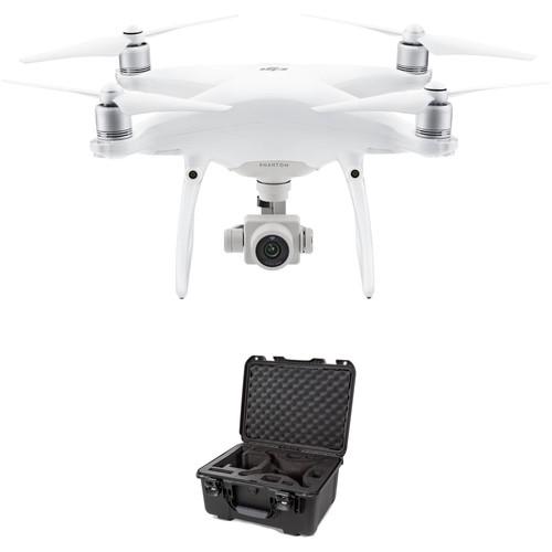 DJI Phantom 4 Advanced Quadcopter Bundle with 945 Waterproof Hard Case
