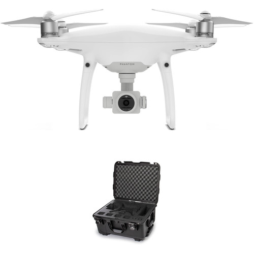 DJI Phantom 4 Pro Quadcopter Bundle with 950 Waterproof Hard Case