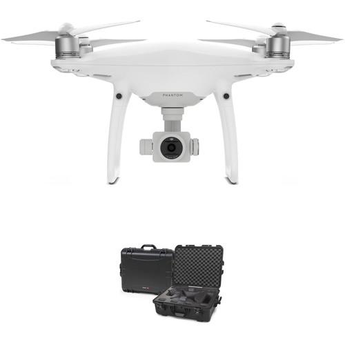 DJI Phantom 4 Pro Quadcopter Bundle with 945 Waterproof Hard Case
