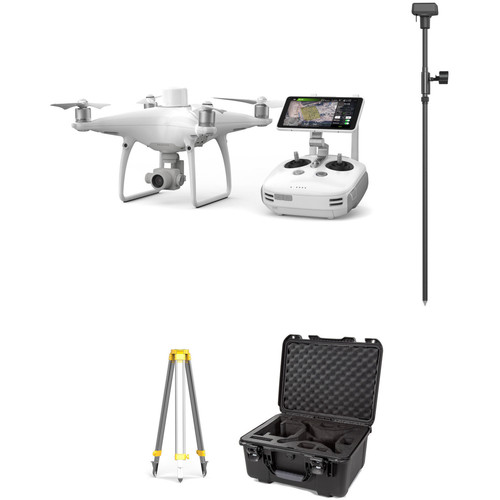 DJI Phantom 4 RTK Quadcopter with D-RTK 2 GNSS Mobile Station & Case Kit