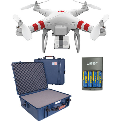DJI Phantom Quadcopter Version 1.1.1with Customizable Hard Case