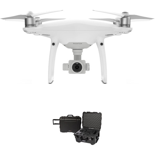 DJI Phantom 4 Pro+ Quadcopter Bundle with Compact Wheeled Case