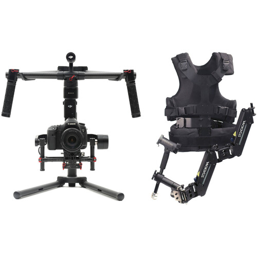 DJI Ronin-M 3-Axis Gimbal Stabilizer and Steadimate 15 Kit