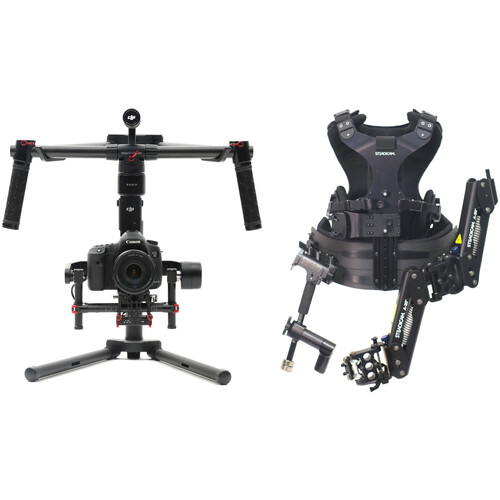 DJI Ronin-M 3-Axis Gimbal Stabilizer and Steadimate 30 Kit