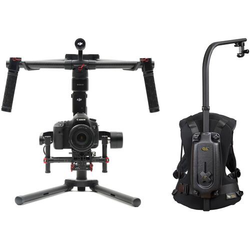 DJI Ronin-M 3-Axis Handheld Gimbal Stabilizer Kit with Easyrig Minimax
