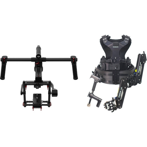 DJI Ronin-MX 3-Axis Gimbal Stabilizer and Steadimate 30 Kit