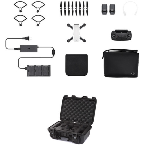 DJI Spark Quadcopter Fly More Combo Kit with Hard Case B&H