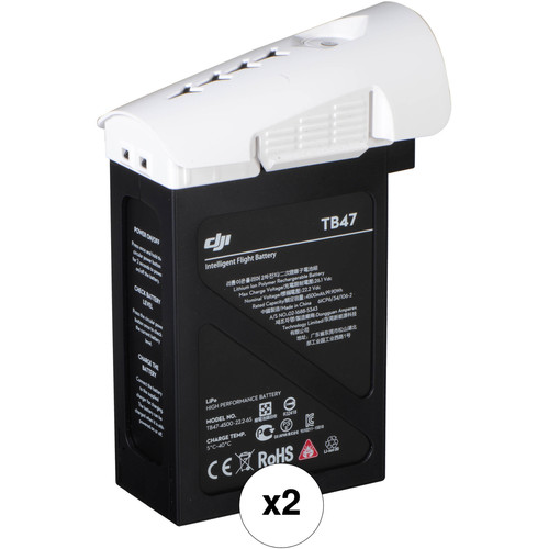 DJI TB47 Intelligent Flight Battery Bundle for Inspire 1 (2-Pack)